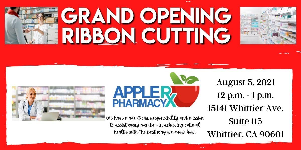 Apple RX Pharmacy Ribbon Cutting