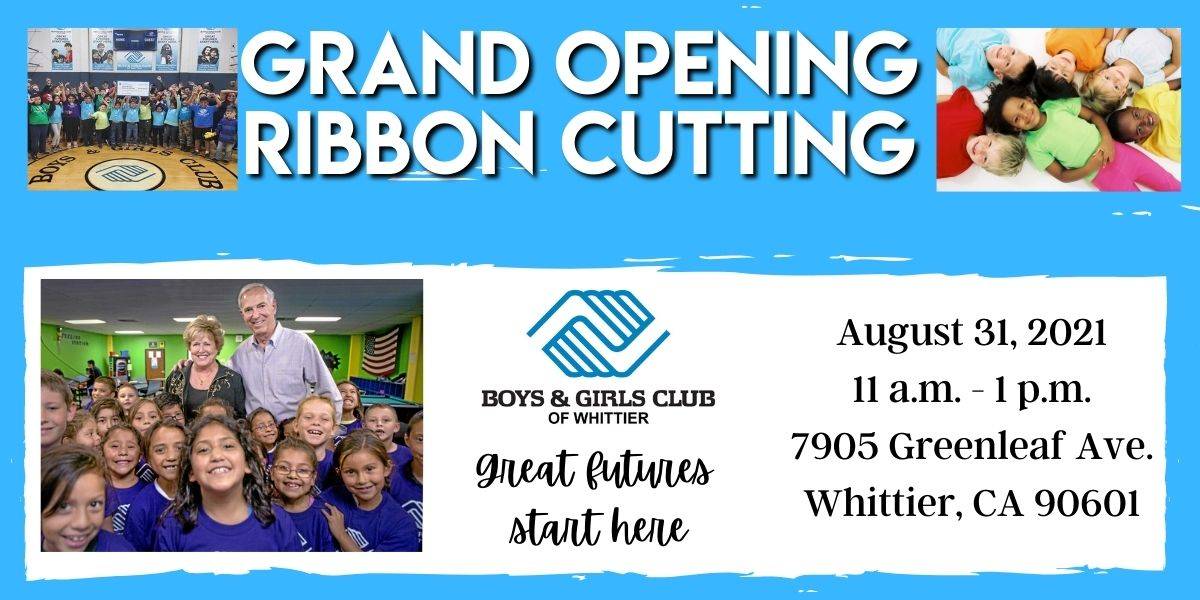 Boys & Girls Ribbon Cutting