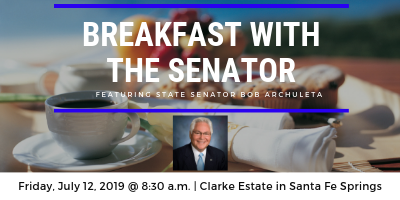 Breakfast with the Senator