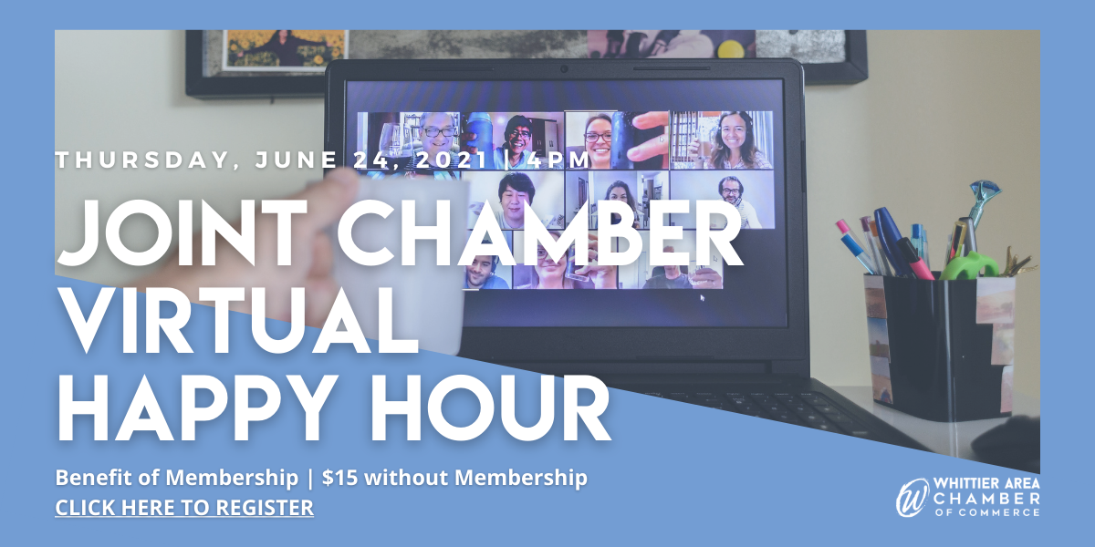 Joint Chamber Virtual Happy Hour June 2021