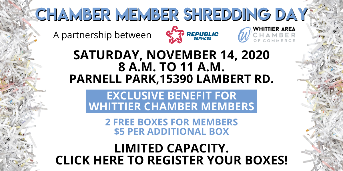 Chamber Shred Day