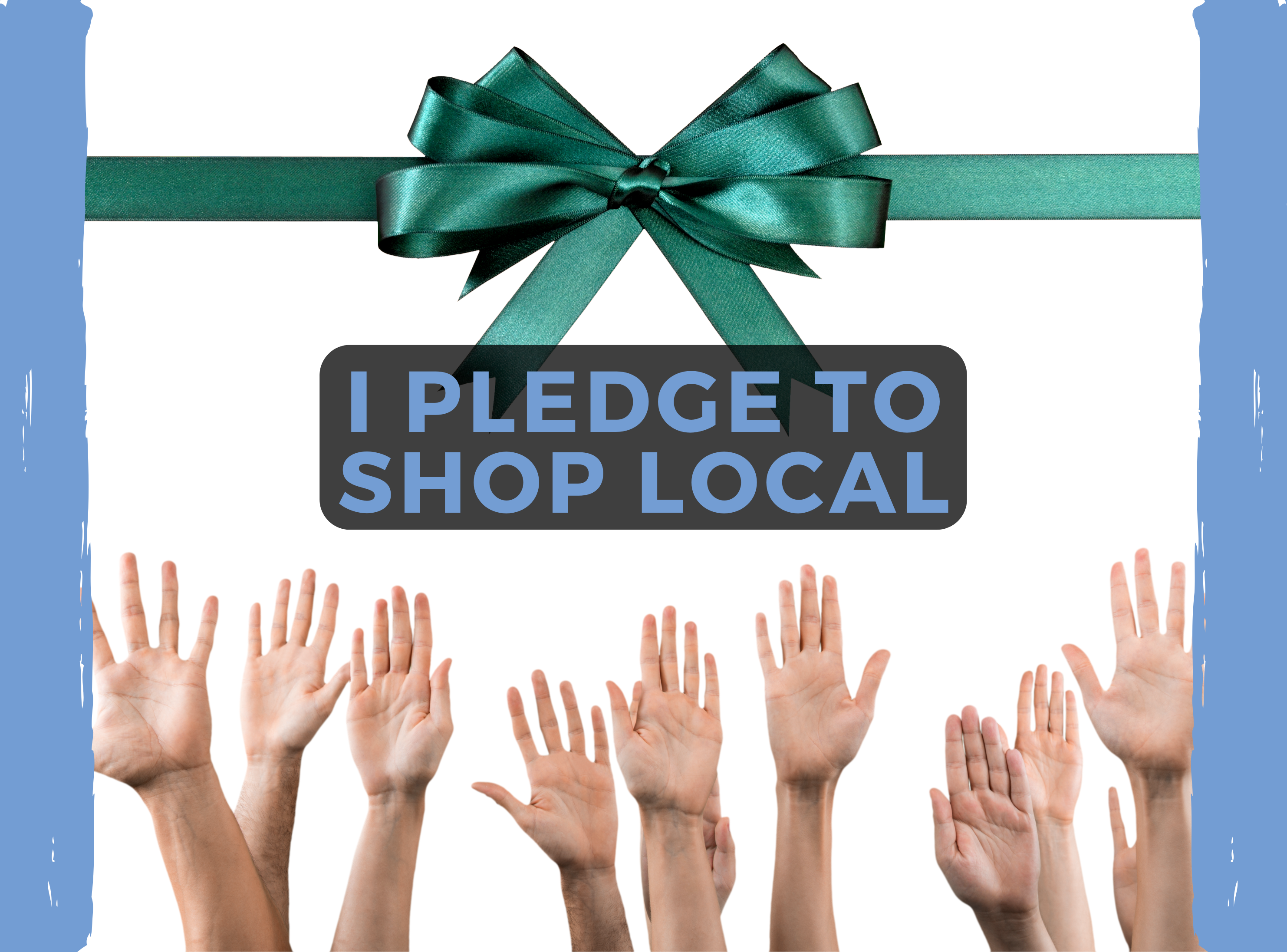 Why pledge to shop local?