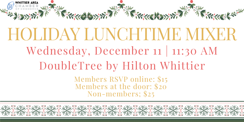 Holiday Lunchtime Mixer