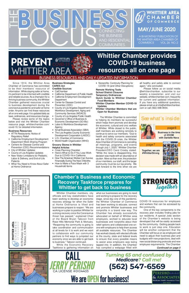 thumbnail of May – June – 2020 Business Focus