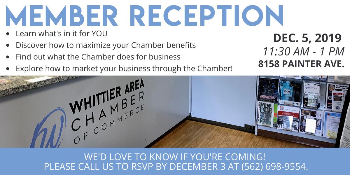 Member Reception December 2019