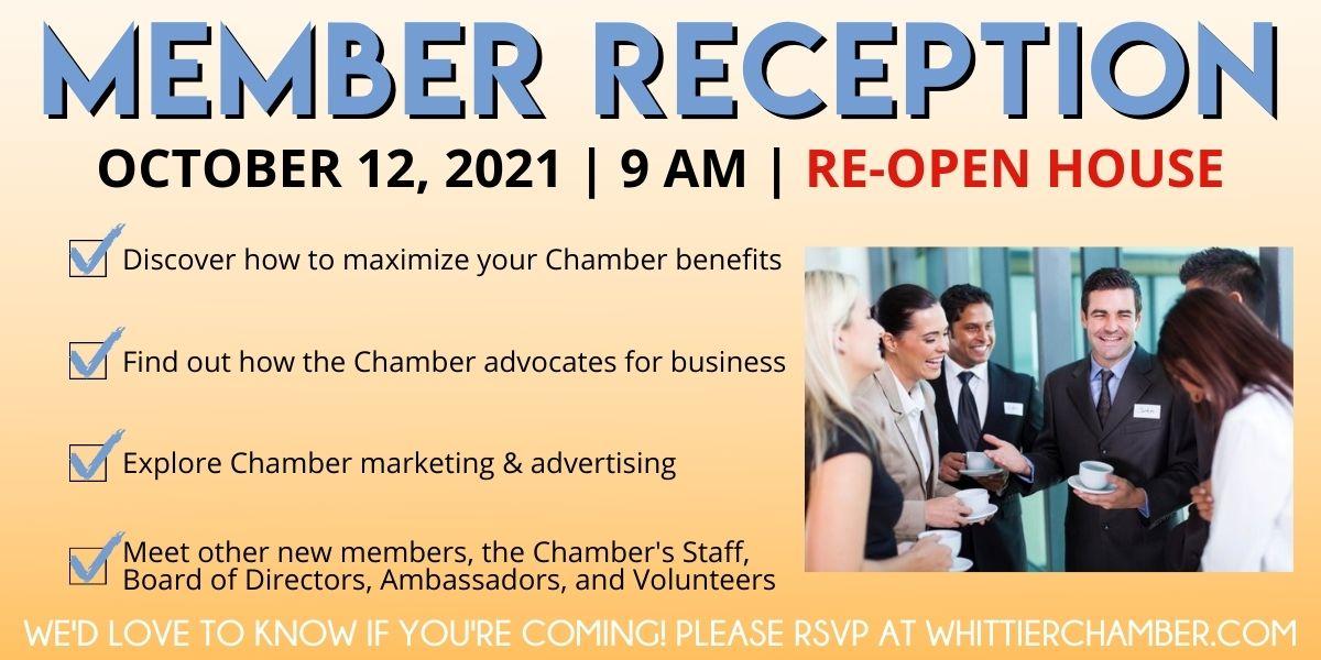 Member Reception October