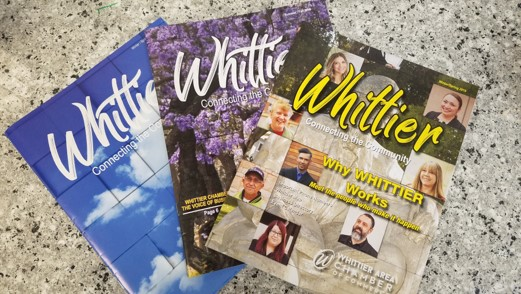 Let the Whittier Chamber be part of your Summer/Fall...