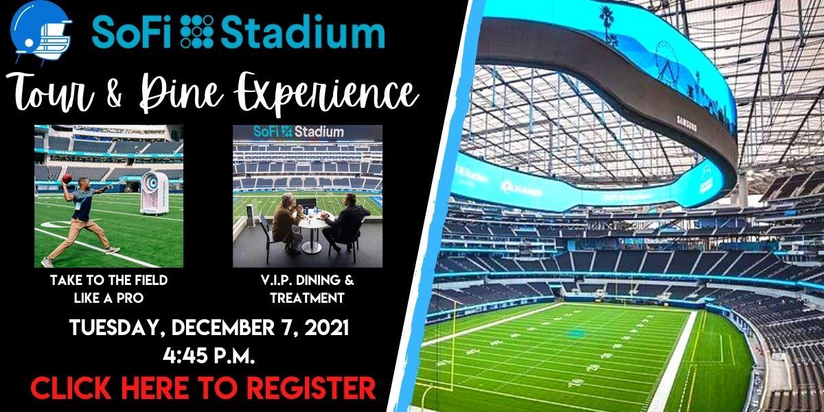 SoFi Stadium Tour & Dine Experience