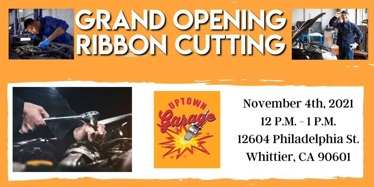 Uptown Garage Ribbon Cutting
