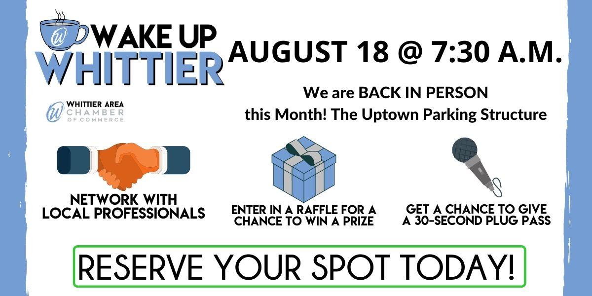 WUW Whittier August