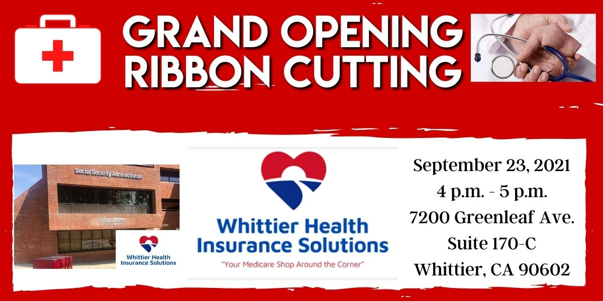 Whittier Health Care Solutions Ribbon Cutting
